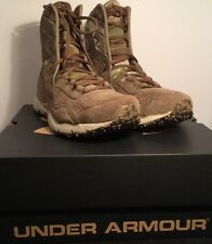 UNDER ARMOUR TACTICAL BOOTS OPS TRAINER MILITARY CAMO 1241638-972 Size 10 NWB