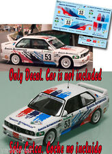 Decal 1:43 Alfredo Sarmiento - BMW M3 - Rally El Corte Ingles 1995