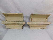 Two Craftsman Style Wood Brackets - C 1910 Fir Very Large Architectural Salvage
