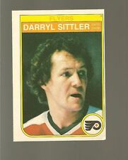 1982 - 83 0 PEE CHEE Hockey Set DARRYL SITTLER Card