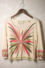 Anthropologie Field Flower Soutine Cardigan Sweater L