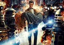 'DR WHO' A4 POSTER PRINT, FREE 1ST CLASS POSTING!!!!!!!!!!!!!