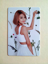 SNSD Girls' Generation 2016 GREETINGS CALENDAR [ OFFICIAL ] PhotoCard - Sooyoung