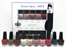 Nail Lacquer Opi - MINI BREAKFAST AT TIFFANY'S - HRH26 - 10 colors x 3.75ml