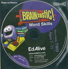 Word Skills TWO - Ages 7-11+yrs - Educational CD New