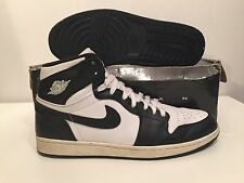 2008 NIKE AIR JORDAN 1 One BLACK/WHITE SIZE 13US FROM COMBO PACK