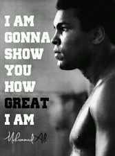 Muhammad Ali Boxing Legend Art Silk Poster 24x36""
