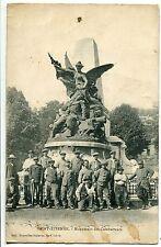 CARTE POSTALE SAINT ETIENNE MONUMENT DES COMBATANTS 1919
