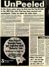 M24/4/71PM19 John peel : Unpeeled Article & Picture(s)