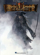 Pirates of The Caribbean At Worlds End Learn to Play Pop Piano Music Book