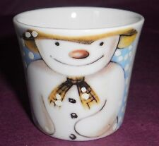 ROYAL DOULTON PORCELAIN SNOWMAN EGG CUP EXTREMELY RARE RAYMOND BRIGGS