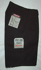 MENS DICKIES Work DRESS Shorts Casual Multi Use Pocket BLACK 30x13