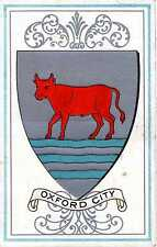 P.C Heraldic Crest City Arms Of Oxford Oxfordshire Excellent Condition