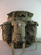 GENUINE US MILITARY DRAB GREEN ALICE FIELD COMBAT PACK LC-1 NYLON MEDIUM VINTAGE