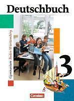 Deutschbuch 3. Schülerbuch. Baden-Württemberg. Gymnasium, 7. Schuljahr