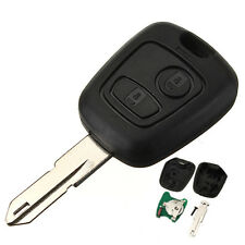PEUGEOT 206 KEY FOB CASE AND UNCUT BLADE NEW REPLACEMENT