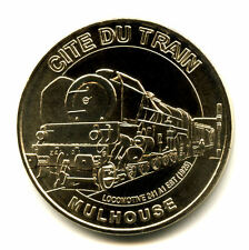 68 MULHOUSE Cité du train, Locomotive 241-A1, 2008, Monnaie de Paris
