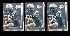 1991 AP RAY MAY Baltimore Colts Rare Whizzer White Award Card Lot
