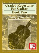 MEL BAY Stanley Yates Graded Repertoire for Guitar Learn to Play Music Book 2
