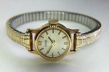 Ladies Vintage (1960's) Oris Gold Plated Swiss Dress Watch