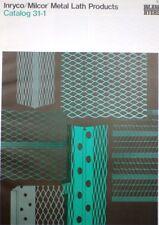 MILCOR Inland Ryerson Catalog ASBESTOS Lath Plaster Vermiculite