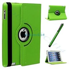 360 Degree Rotating PU Leather Swivel Stand Case Cover For Apple iPad 2/3/4