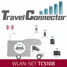 Travelconnector tcs108+2dk caravana outdoor WLAN antena WiFi con 12v router