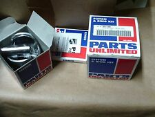 VINTAGE SNOWMOBILE NOS PARTS UNLIMITED 09 780 PISTON + RINGS ROTAX