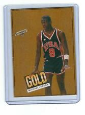 1984 GOLD DRAFT MICHAEL JORDAN ODDBALL CARD CHICAGO BULLS  # 23 COLLEGE STATS