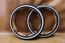 HONDA CUB C50 C65 C70 C90 CM90 CM91 F/R Tyre Tire White Wall 17X2.25 17X2.50