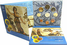 Zypern 5,88 Euro 2009 Stgl. KMS 1 Cent - 2 Euro 10 Jahre WWU EMU im Folder