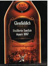 Publicité Advertising 2014 Scotch Whisky Glenfiddich