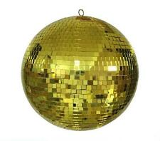 HUGE 20 INCH GOLD MIRROR DISCO BALL party supplies reflection mirrors dj novelty