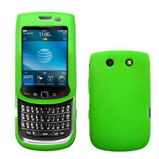 Silicone Skin Case for Blackberry Torch 9800/9810 - Green