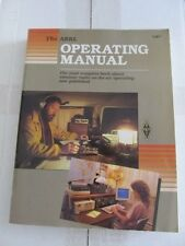 THE ARRL OPERATING MANUAL - 1991 - 4TH ED / 1ST PRINTING - # 1086