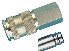 "Quick Release Coupler 1/4""bspp Female Valved Rectus 25KA Series Pk1"