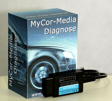 Diagnóstico Interface USB bus can obd2 error leer los dispositivo coche car para Opel