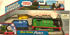 Fisher Price New Trackmaster Thomas & Friends Real Steam Percy Motorized Train
