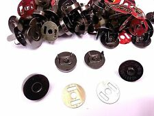20 Sets (18mm)GUN METAL Magnetic Fastener Snaps Clasps for Bags, Sewing Buttons