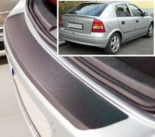Vauxhall/Opel Astra MK4 Hatchback - Carbon Style rear Bumper Protector