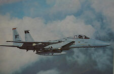 After The Battle McDonnell Douglas F-15 Eagle USAF Postcard