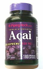 180 Capsule Triple Strength Acai Berry Supreme 3000mg AntiOxidant Extract Pill