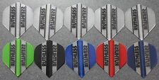 10 Packets of Brand New Ruthless  Darts Flights - 'Essentials 8' pack.