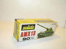n13, Scatola char AMX 13 canon 90 militare repro SOLIDO