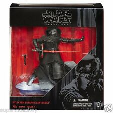 "HASBRO STAR WARS BLACK SERIES 6"" KYLO REN STARKILLER BASE 2015 EXCLUSIVE FIGURE"