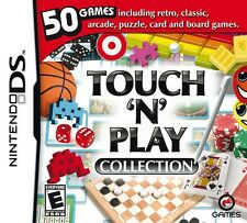 TOUCH N PLAY COLLECTION 50 GAMES DS DS DS LITE 3DS 2DS DSI 3DS XL