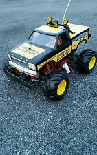 Original vintage  (1992) TAMIYA SUPER BLACKFOOT 1/10 R/C KIT! #58110
