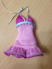 Barbie My Scene Kennedy Ultra Glam Doll's Pink Halter Dress Rare