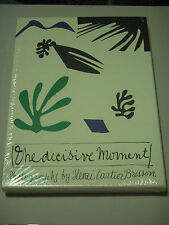 HENRI CARTIER BRESSON THE DECISIVE MOMENT STEIDL FACSIMILE FIRST PRINTING