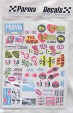 Parma 1/10th Scale Hot Rod Sponsor Decal Sheet PAR10607